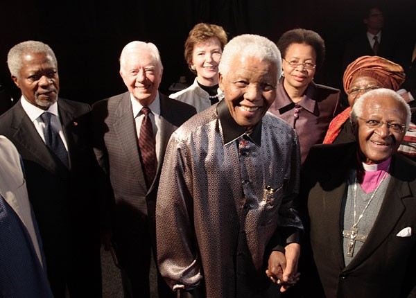 Nelson Mandela Launches The Elders