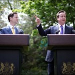 First Press Conference Cameron and Clegg